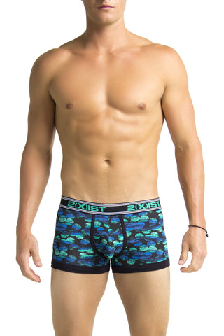 2(X)IST Dot Black Prints Trunk