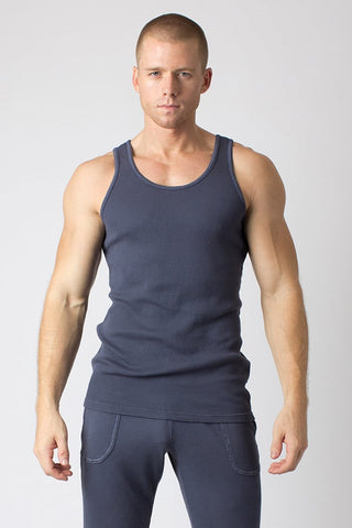 Timoteo Grey Comfort Tank Top