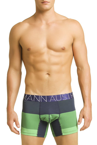 Mosmann Blue & Green Striped Aura Boxer