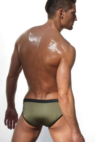 Rufskin Olive Filip Swim Brief