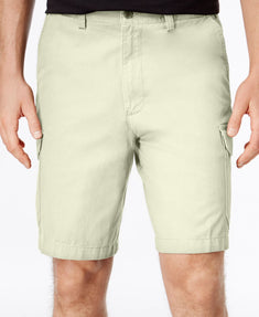Geoffrey Beene Men's Big and Tall Washed Twill Cargo Short