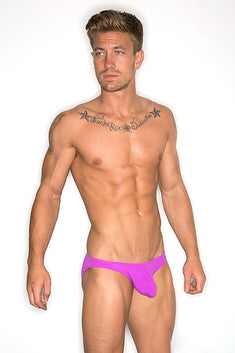 CheapUndies Purple Enhancement Swim Bikini