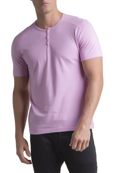 C-IN2 Candy Coated Pop Short Sleeve Henley - CheapUndies.com