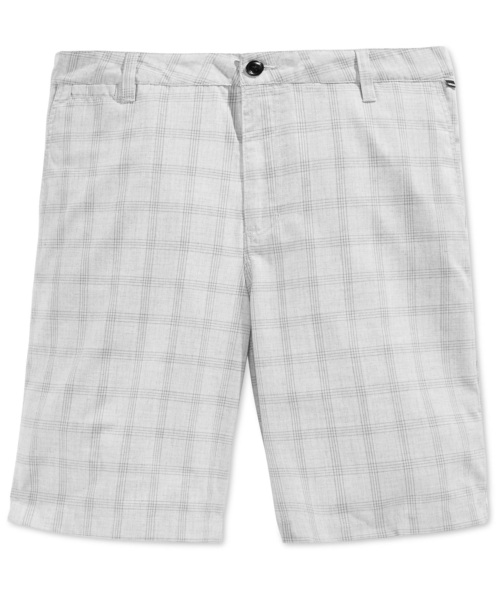 Quiksilver Men's To The Wall Plaid Short