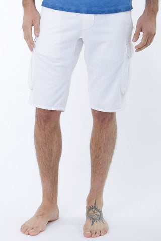 Jetlag White Lounge Shorts