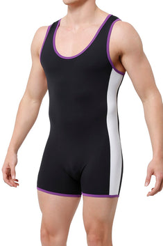 CheapUndies Purple Sport Singlet