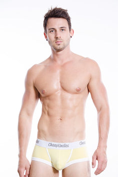CheapUndies Yellow Cotton Boxer