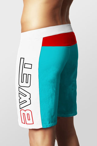 BWET Turquoise Pals Long Surf Short
