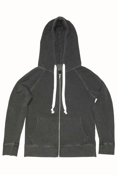 Rxmance Unisex Vintage Black Hooded Zip Sweatshirt - CheapUndies.com