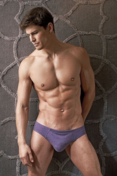 Contour Purple Luxe Jersey French Brief - CheapUndies.com