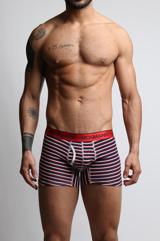 2-Pack Mosmann Multi Stripes & Navy Paisley Boxer Brief