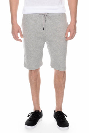 2(X)IST Light-Heather-Grey French Terry Short
