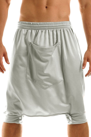 Silver Crossfit Sweat Shorts