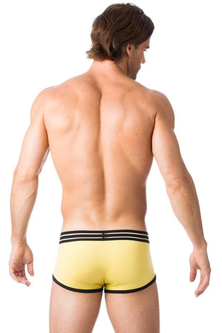 Gregg Homme Yellow Charged Boxer Brief