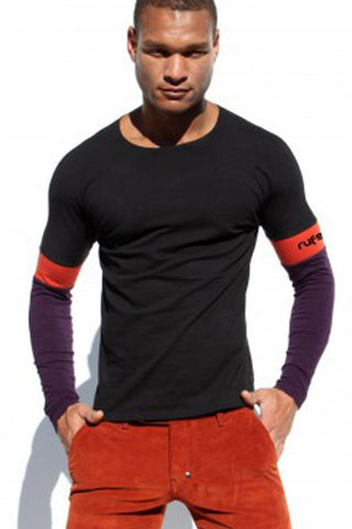 Rufskin Mauro Black Long Sleeve Shirt