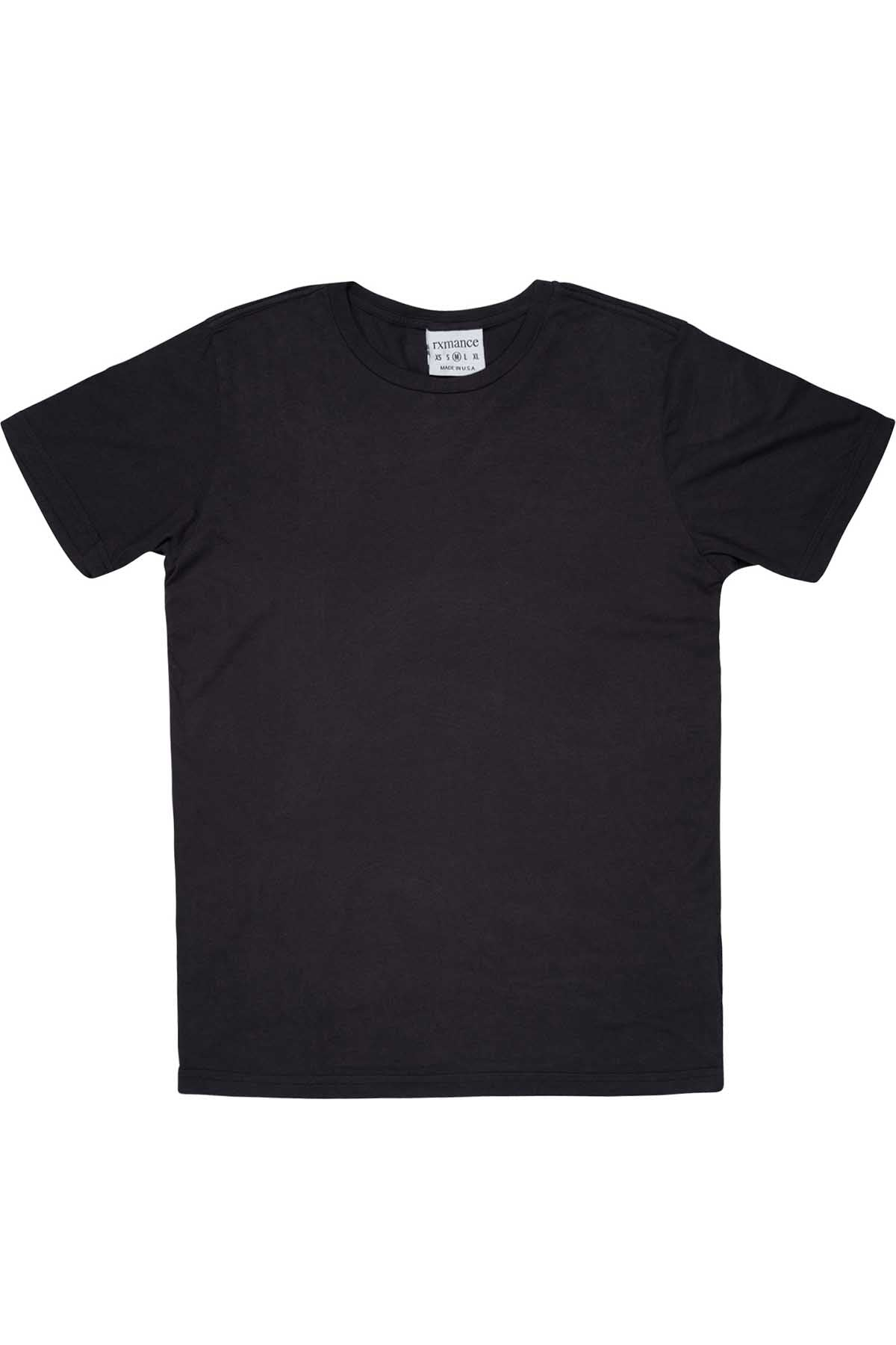 Rxmance Unisex Phantom Black Crew Neck Tee