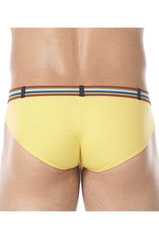 Gregg Homme Yellow Lover-Boy C-Ring Brief