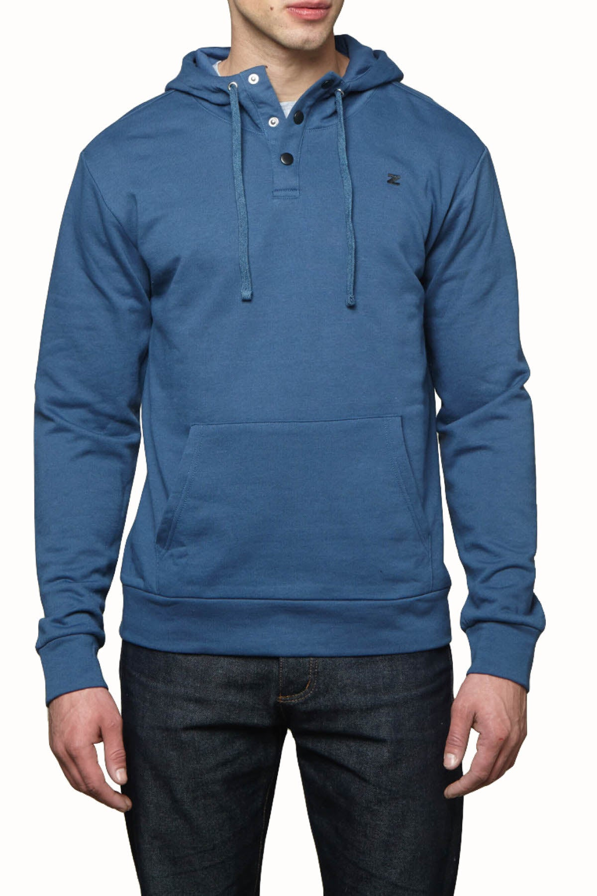 Zutoq Blue Zunked Hooded Sweatshirt