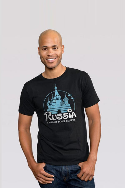 Headline Black Russia Graphic Tee
