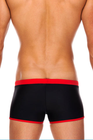 Tribe Black & Red Indian Swim Trunk