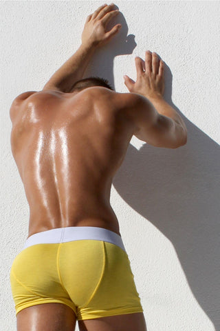 Rufskin Yellow Noah Boxer Brief