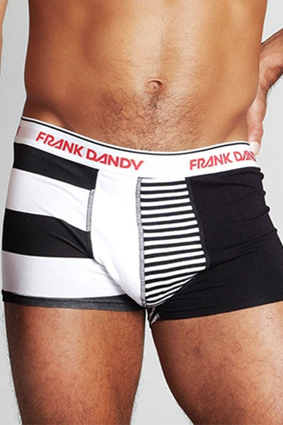 Frank Dandy Black Happy Stripe Trunk