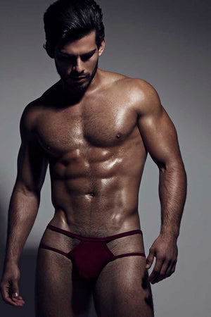 Core Red Exposed Sides Brief