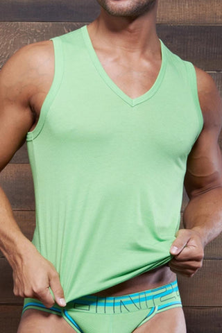C-IN2 Green Flash Zen Strong Arm V-Neck