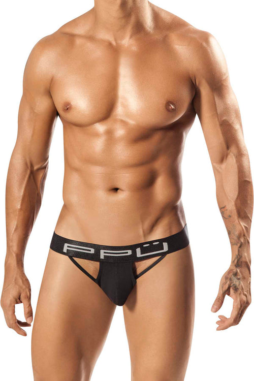 PPU Black Wile Jockstrap - CheapUndies.com