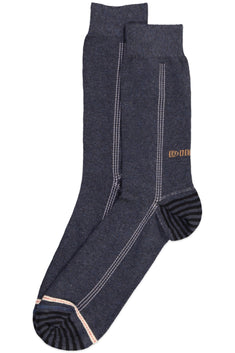 Diesel Black Denim Ray Socks