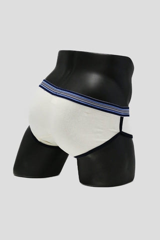Fino Beige Sport Piping Brief