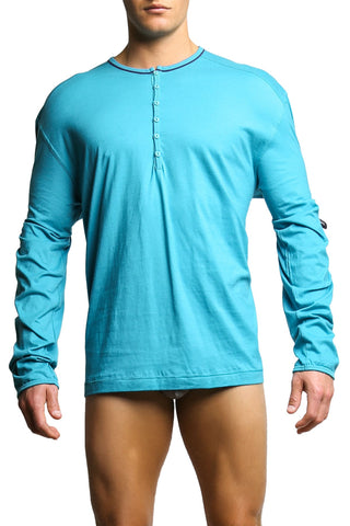 C-IN2 Pagoda Color Pop Long Sleeve Henley