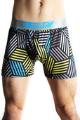 Occupy Black Stripe Boxer Brief
