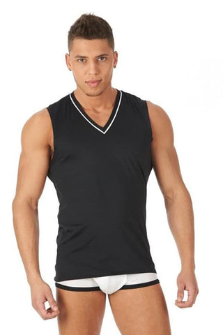 Gregg Homme Black Gentlemen Muscle Shirt