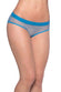 Oh La La Cheri Blue Open Back Fishnet Panty - CheapUndies.com