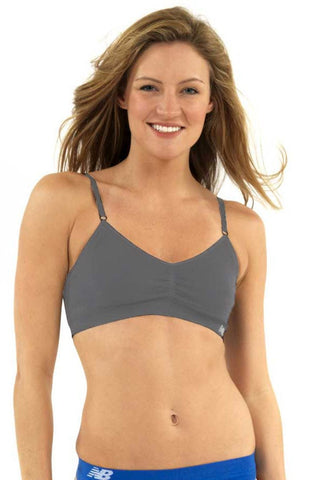 New Balance Grey T-Shirt Bra