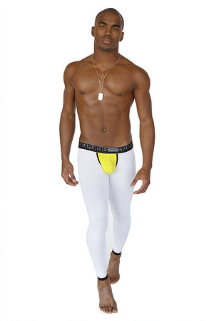 CheapUndies White & Green Down-Under Pant