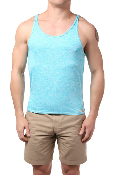 Gigo Blue Water Fitness Tank Top - CheapUndies.com