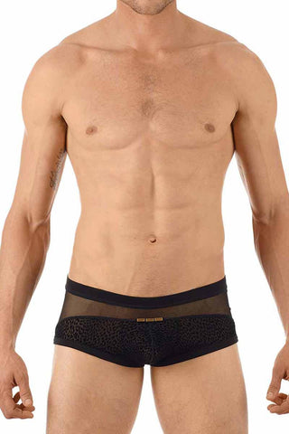 Gregg Homme Black Tryst Mesh Boxer Brief