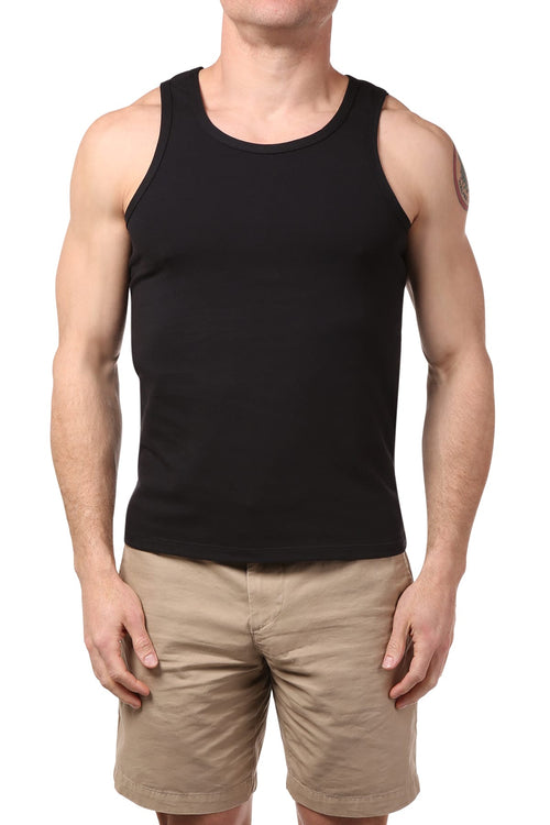 Gigo Black Logo Tank - CheapUndies.com