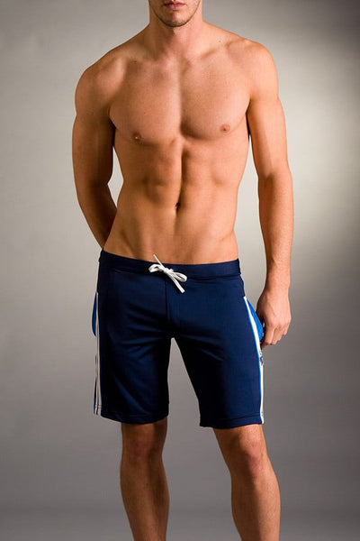 Timoteo Navy Athlete Short