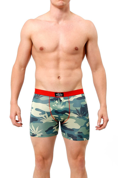 UNDZ Weed Camo Boxer Brief - CheapUndies.com
