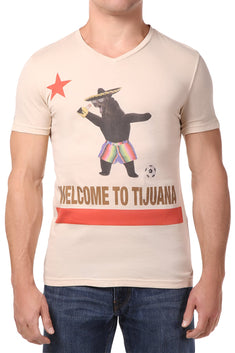 Spenglish Tan Welcome to Tijuana Tee