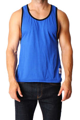 Timoteo Royal Blue & Black Freedom Tank
