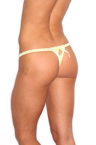 Spreegirl Yellow Sheer Panty