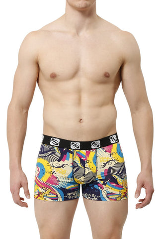 Freegun Yellow Jurassic Boxer Brief