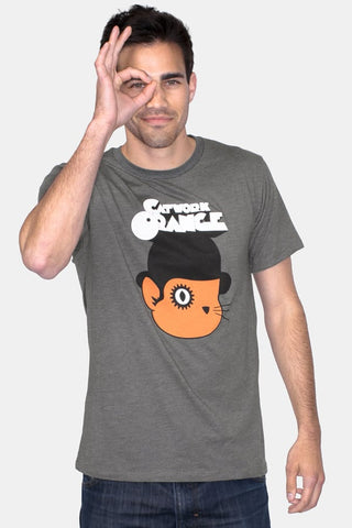 Headline Catwork Orange Graphic Tee