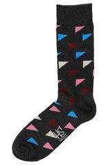 Happy Sock Triangles- 010 Sock
