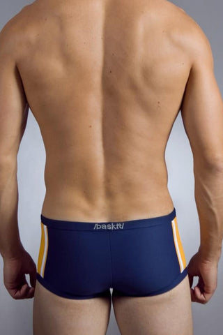 Baskit Navy Lucky 11 Swim Trunk