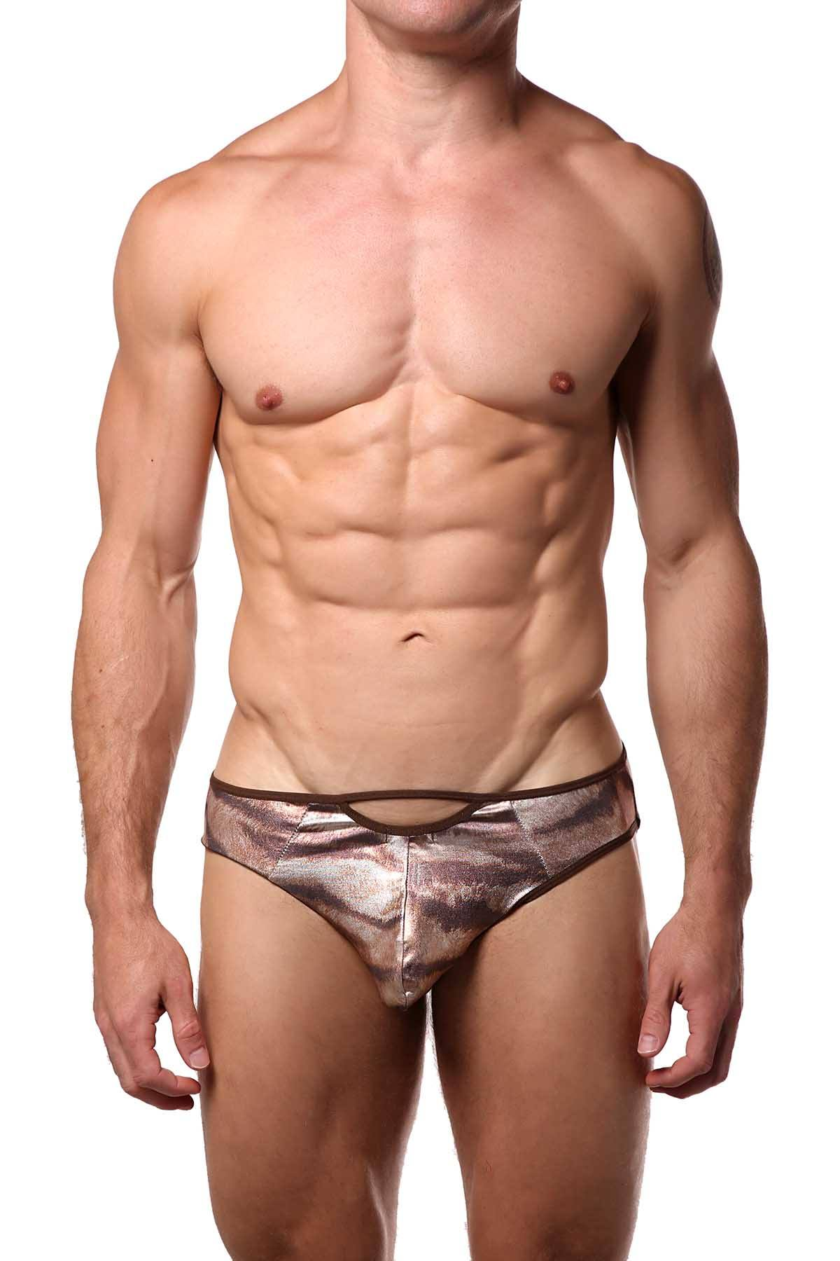 Extreme Collection Tiger Print Jock-Brief